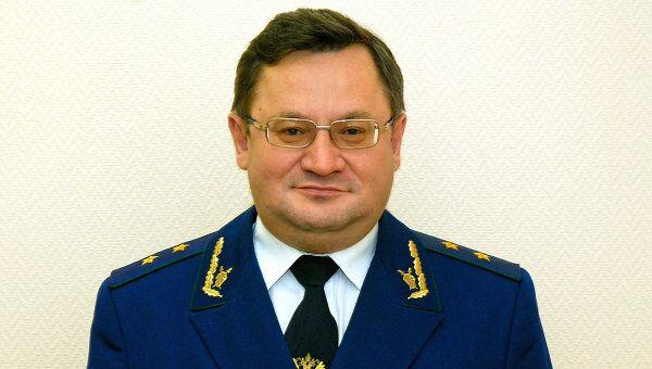 Руководитель управления Генпрокуратуры РФ Вячеслав Сизов