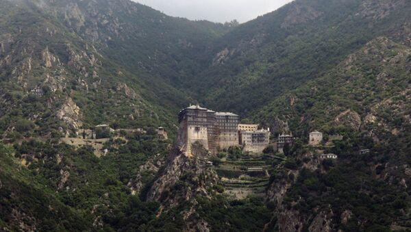 Монастыри Святой горы Афон. Архив
