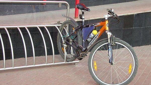 велопарковка на Теплом стане