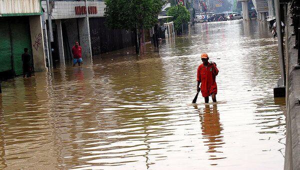 Наводнение в Индонезии. Архивное фото