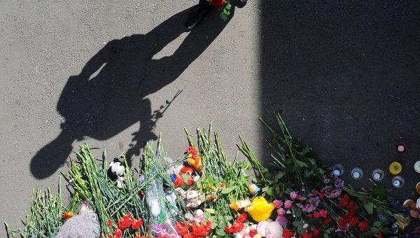 Акция в память о погибших на теплоходе Булгария