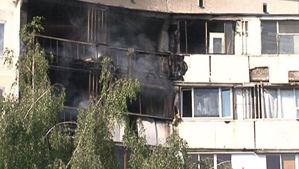 Пять квартир частично выгорели в результате пожара на юге Москвы