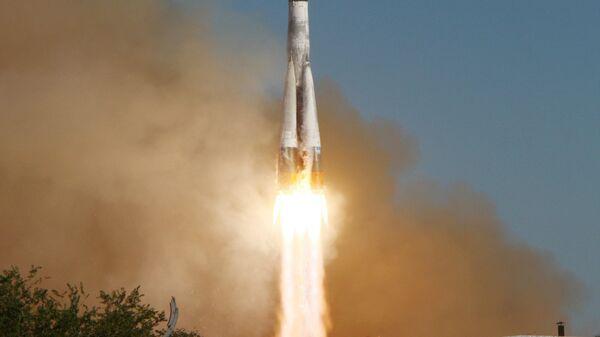 Пуск ракеты с разгонным блоком Фрегат. Архивное фото