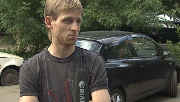 Блогер Терновский показал видео обстрела его автомобиля