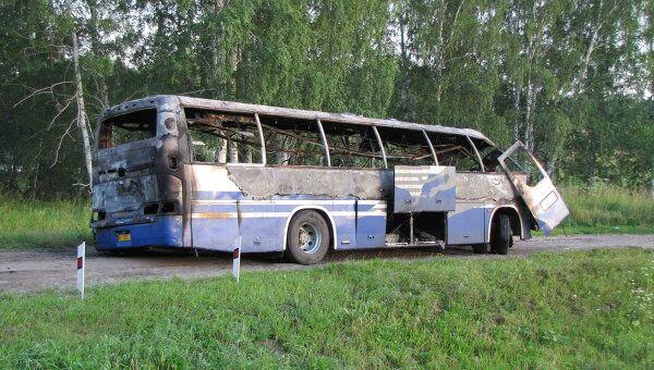 ДТП с автобусом в Новосибисркой области 17 июля 2011 г.