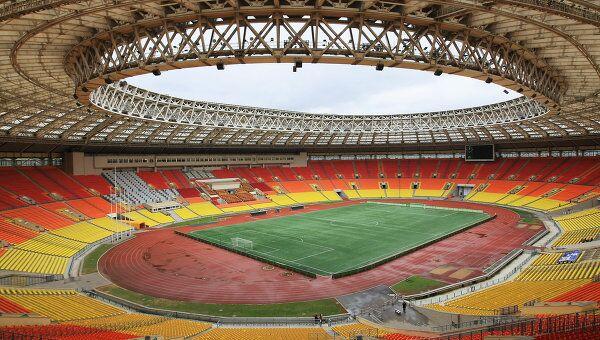 Большая спортивная арена Олимпийского комплекса Лужники. Архив