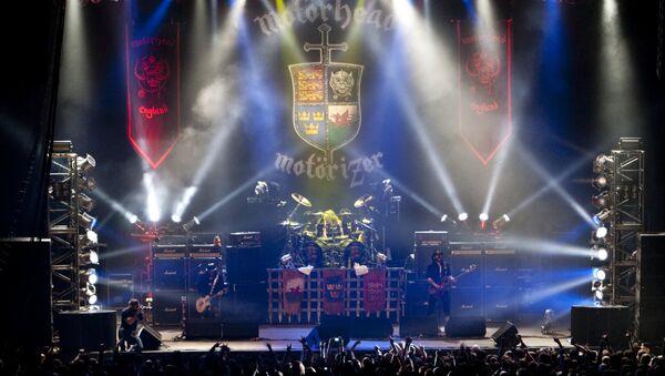 Концерт группы Motorhead. Архивное фото