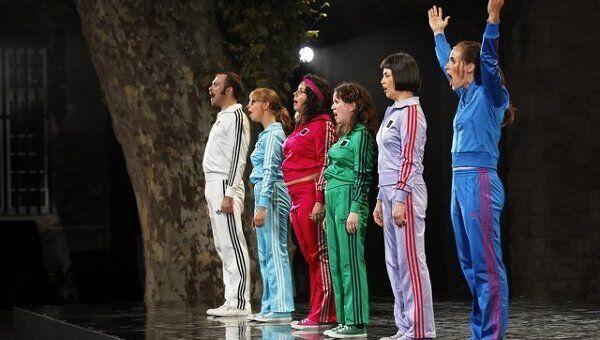 Спектакль Жизнь и времена на Авиньонском театральном фестивале