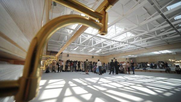 Завершение реставрации балетных залов Большого театра