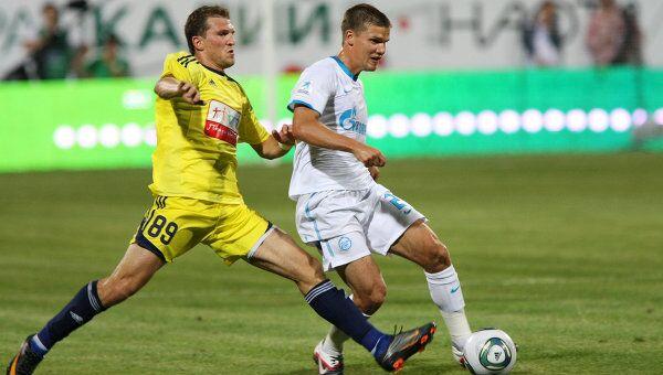 Футбол. РФПЛ. Матч Анжи - Зенит - 0:1