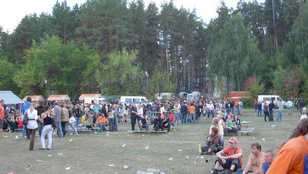 Массовая драка на рок-фестивале «Торнадо-2010», фото с места событий