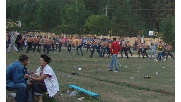 Драка на рок-фестивале Торнадо - 2010 около города Миасс Челябинской области
