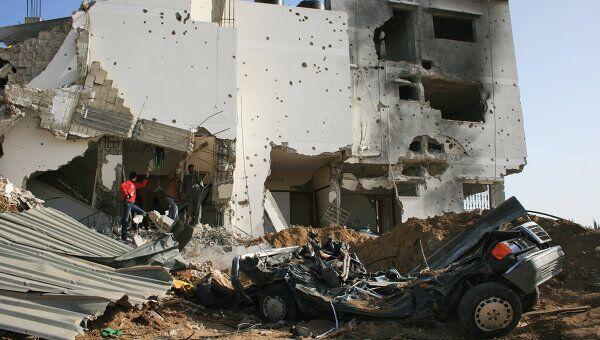 ВВС Израиля подвергли бомбардировке сектор Газа в ответ на обстрелы