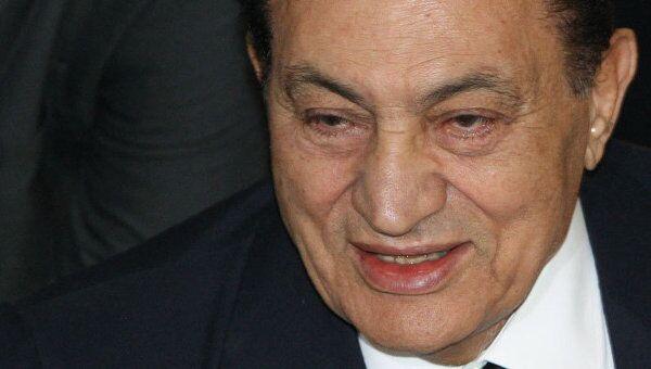 Президент Египта Хосни Мубарак