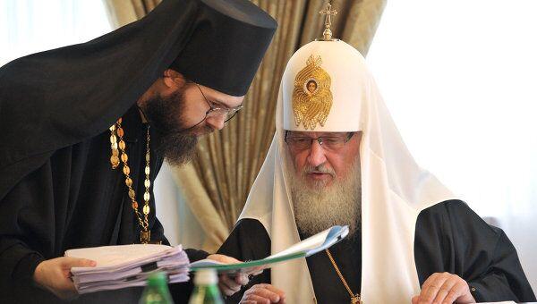 Визит Святейшего Патриарха Московского и Всея Руси Кирилла на Украину