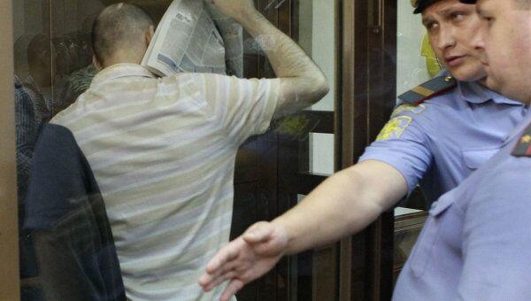 Заседание суда по уголовному делу в отношении Владимира Барсукова (Кумарина) и Дмитрия Рафаиловича