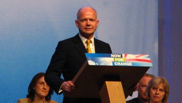 Министр иностранных дел теневого кабинета консерваторов Уильям Хейг