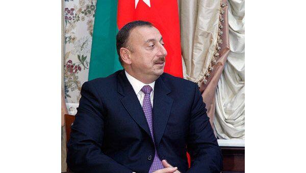 Президент Азербайджана Ильхам Алиев. Архив