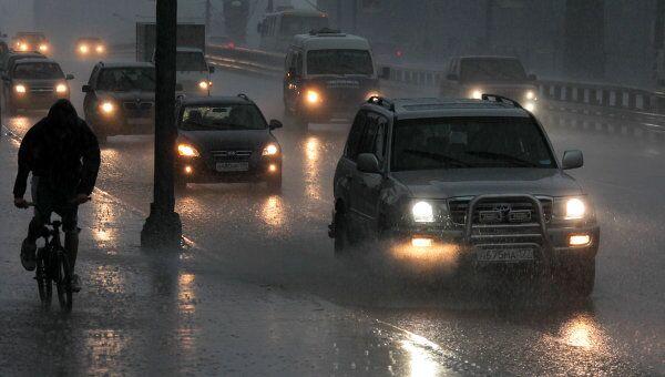 Сильный туман осложнил ситуацию на дорогах в Подмосковье