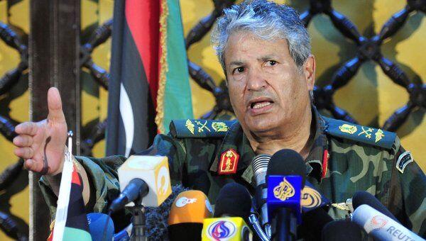Командующий войсками ливийских мятежников Абдель Фаттах Юнис