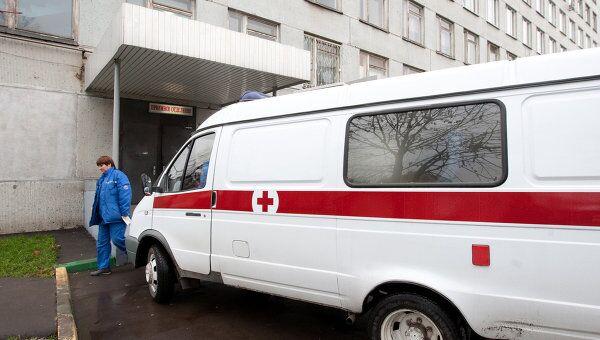 Морозовская детская городская клиническая больница, в которой находится раненная одноклассницей школьница