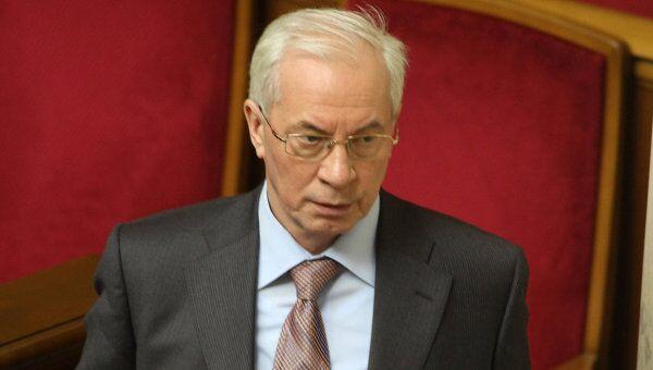 Кандидат на должность премьер-министра Украины Николай Азаров. Архив