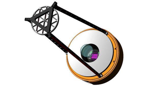 Космический телескоп Лира со снятым корпусом