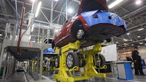 Завод PSA Peugeot Citroen и Mitsubishi Motors в Калужской области. Архив