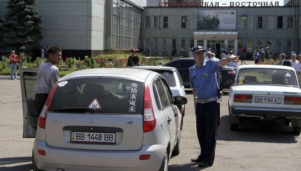 Шахта Суходольская-Восточная в Луганской области, где произошел взрыв