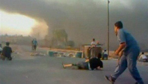 Столкновения в сирийском городе Хама