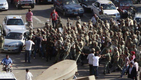 Ситуация на площади Тахрир 1 августа