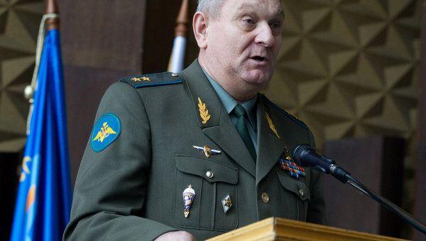 Николай Игнатов на съезде Союза десантников России
