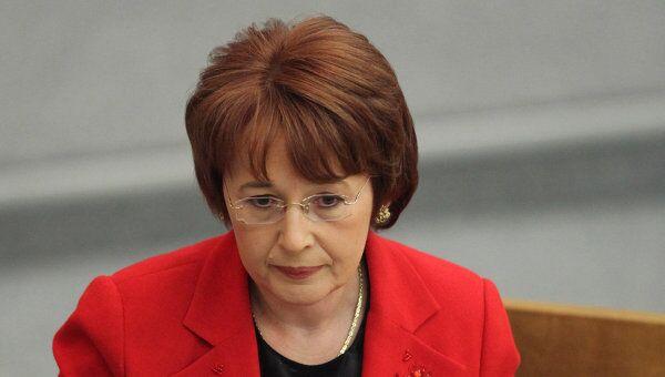 Оксана Дмитриева. Пленарное заседание в Государственной Думе РФ