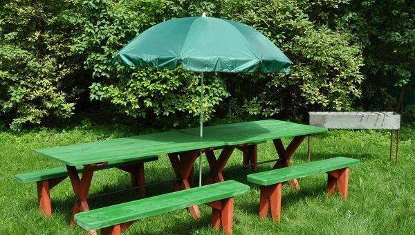 Специально оборудованные площадки для пикника в парке Кузьминки-Люблино