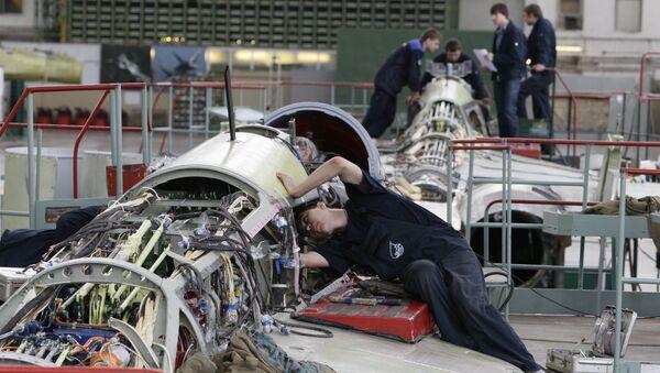 Самолетостроение, архивное фото