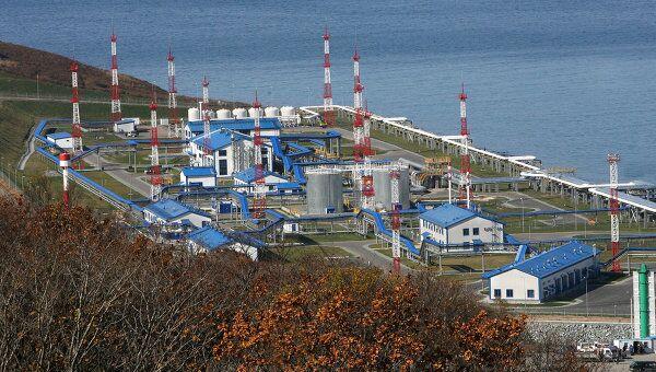 Конечный пункт трубопроводной системы Восточная Сибирь – Тихий океан. Архив