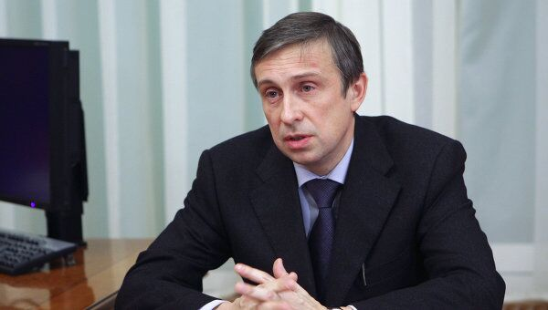 Глава ФСФР Владимир Миловидов. Архив