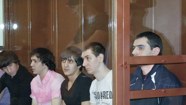 Слушания по делу А.Черкесова, обвиняемого в убийстве Егора Свиридова в Мосгорсуде