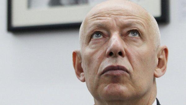 Комиссар Московской биеннале современного искусства Иосиф Бакштейн