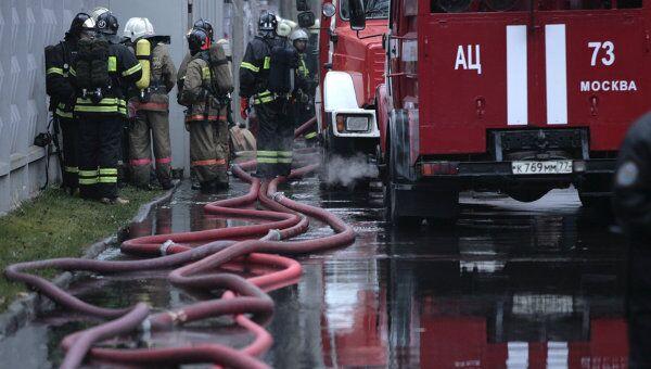 Локализация пожара. Архив