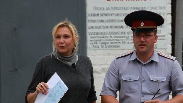 Освобождение актрисы Натальи Захаровой из колонии