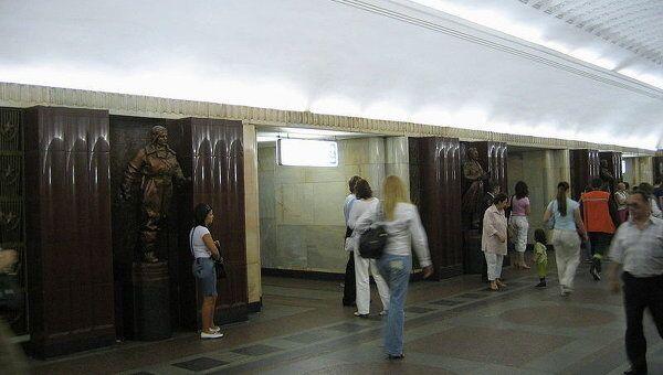 Станция метро Бауманская. Архив