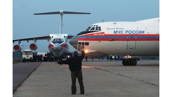 Самолет МЧС России. Архив