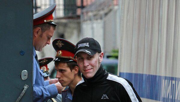 Игорь Березюк, обвиняемый по делу о беспорядках на Манежной площади