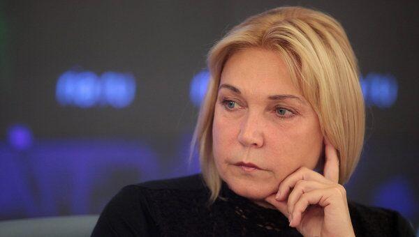Пресс-конференция актрисы Натальи Захаровой в агентстве РИА Новости