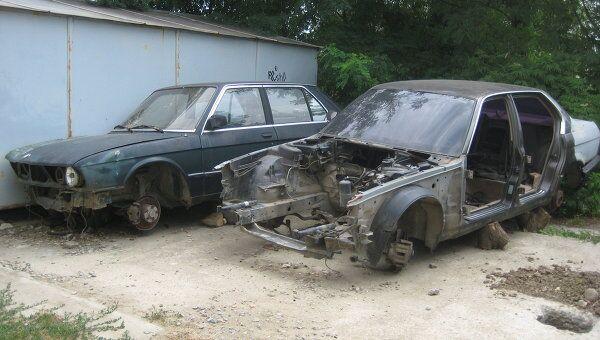 Брошенные автомобили. Архив