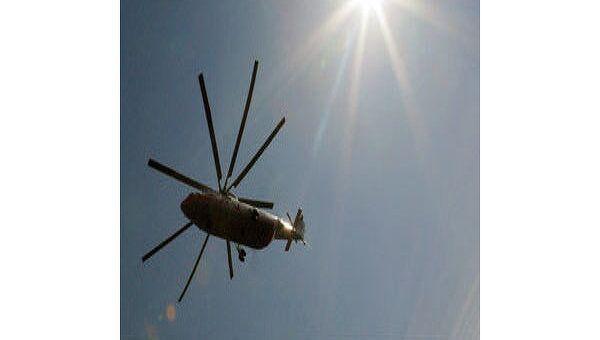 Глава МВД Польши приехал на место крушения вертолета в Белоруссии