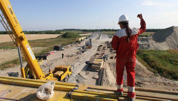 Строительство новой автотрассы Москва-Петербург ожидается в 2010 году