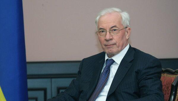 Глава правительства Украины Николай Азаров. Архив