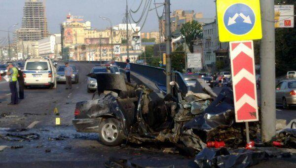 Трое погибших и девять раненых в ДТП на Сухаревской
